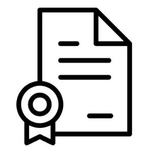 Officieel erkende certificaten